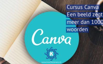 Cursus Canva, beeld bij de kracht van jouw zaak
